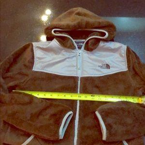 The North Face brown fleece